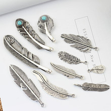 Buy 50pcs Mixed Tibetan Silver Plated Feather Leaf Charms Pendants Jewelry Making Diy Charm Handmade Crafts,Multi Size Charms for $8.81 in AliExpress store