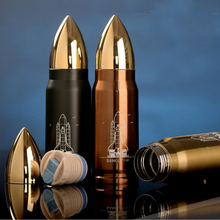New 350mL Hot Sale Bullet Stainless Steel Travel Mug Tea Water Coffee Bottle Flask Vacuum Thermos Cup -Gold/Copper/Army Green