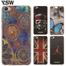 For BQ BQ-5058 Strike Power Easy Protective Soft TPU Colored Phone Cases Silicone Colorful Exquisite Painted cover BQ 5058