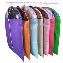 1Pcs new Dust cover Protector candy Dress Jacket Clothes Coat organizer vacuum Dustproof Hanger Garment Suit Cover Storage Bags
