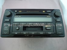 Brandnew TOYOTA A56822 6 DISC CD CHANGER Matsushita CQ-ES8161Z for TOYOTA 86120-AA090 CAMRY SE 02-04 YEAR Cassette SCAN RDS MSG(China)