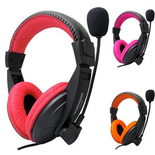 Advanced 2017 New Headset Stereo Earphone Headband for PC for Notebook Gaming Headset Microphone Drop Shipping(China)