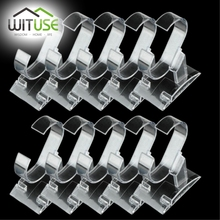 Cheap 10 pcs Clear acrylic bracelet watch display holder stand rack retail shop showcase top Quality(China)