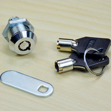 21.5mm Cam Lock For Security Door Cabinet Mailbox Drawer Cupboard Locker With 2 Keys Home Safety Tools(China)