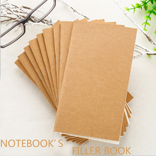 Kraft Cover Office Supplies Organizer's Filler NotebookKraft Paper Multifunctional Notebook's Replacement Filler Paper Planners