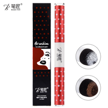 Brand Beauty Makeup 3 Colors 2 In 1 Silkworms Eyeshadow Eyeliner Pencil Make Up Eye Liner Pen Waterproof Cosmetics Double-end(China)