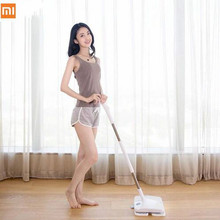 3 year warranty !Xiaomi SWDK  Wireless Handheld Electric Mop Wiper Floor Washers With Mops Light DC 12V