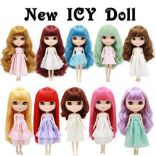 Normal body Cute ICY can choose the hair style and the body suitable DIY Gift for girls like Neo blyth doll dolls 1/6 30cm high