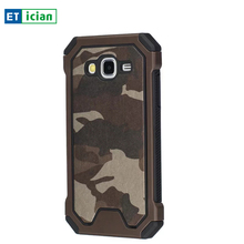 For Samsung Galaxy J5 2016 Luxury Case 2 in 1 PC+TPU Army Camouflage Hard Back Cover For Samsung J5 Phone Cases Accessories
