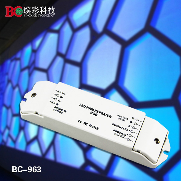 high Frequency constant  voltage pwm rgb led amplifier with Over current and short circuit protection<br><br>Aliexpress