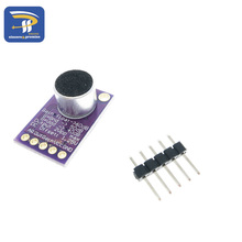 GY-MAX9814  Electret Microphone Amplifier Stable MAX9814 module Auto Gain Control for Arduino