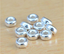 925 silver jump rings loop 10pcs 6mm DIY beaded jewelry accessories free shipping(China)