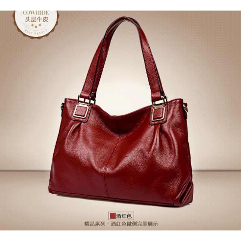 XIYUAN BRAND WOMEN HANDBAGS Genuine Leather Hand Bag Tote 2017 Luxury Designer Lady Shoulder Bag Crossbody Totes Bolsas feminina
