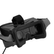 5.8G Dual Receiver FPV 3D Video Glasses Viewer Handset Video Virtual Display   VZDR0357