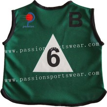 Customized Soccer Ball Traning Bib / Football Training Mesh Bibs