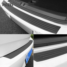 Car Trunk guard plate sticker for Suzuki Jimny The Kizashi Grand Vitara SX4 VITARA Works Baleno Celerio Swift