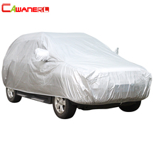 Cawanerl SUV Car Cover Sunshade Outdoor Sun Rain Snow Cover Anti UV Scratch Resistant Dustproof Car Accessories Universal(China)