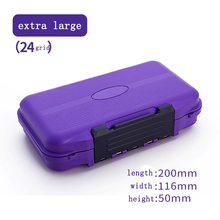 Extra large 20*11.6*5cm pesca acesorios waterproof box Highly sealed fishing storage boxes Removable insert lure box tackle box