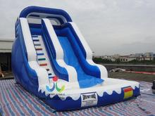8X4M Inflatable Soap Inflatable Trampolines from China Swimming Pool Field with Inflatable Water Slide