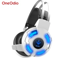 LED Game Headset USB Gaming Headphones for PS4 Xbox one PC LED Game Headset Headphones Gaming with Microphone for Xiaomi Phone
