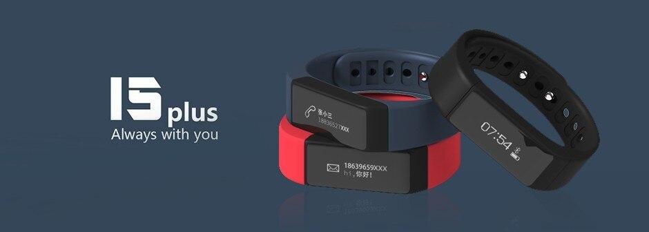 Original iwown I5 Plus Smart Bracelet Bluetooth Activity Wristband Fitness Sleep Tracker Reminder Passmeter Sports Watch 1