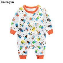 Newborn Baby Girl Clothes Cotton Baby Rompers Children's Fashion infant enfant clothes Kid Autumn Jumpsuit Boy Baby Apparel 24m
