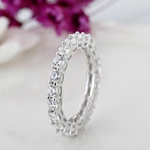 HOMOD 2017New Silver Color Dazzling AAA Zirconia Stackable Brand Ring for Women Wedding Jewelry Girlfriend Gift(China)