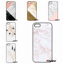 Pink Gold Glitter And marble collage Phone Case Cover For iPhone 4 4S 5 5C SE 6 6S 7 Plus Galaxy J5 J3 A5 A3 2016 S5 S7 S6 Edge