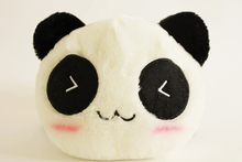 free shipping red scarf prone panda plush toy about 25cm soft toy, one lot/ 10 pieces ,Christmas gift h173(China)
