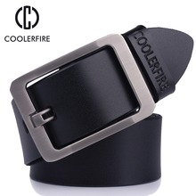 Mens belt high quality belts male genuine leather strap leather belt men male designer belts&Cummerbunds for men HQ022(China)
