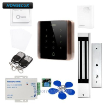 HOMSECUR Waterproof Touch Keypad IC Access Control System+Waterproof Magnetic Lock
