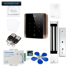 HOMSECUR Waterproof Touch Keypad IC Access Control System+Waterproof Magnetic Lock(China)