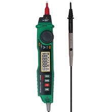 Multitester Aimometer MS8211 Digital Multimeter Pen Type Clamp Meter DMM Non-contact Voltage Diode Continuity Tester Detector(China)
