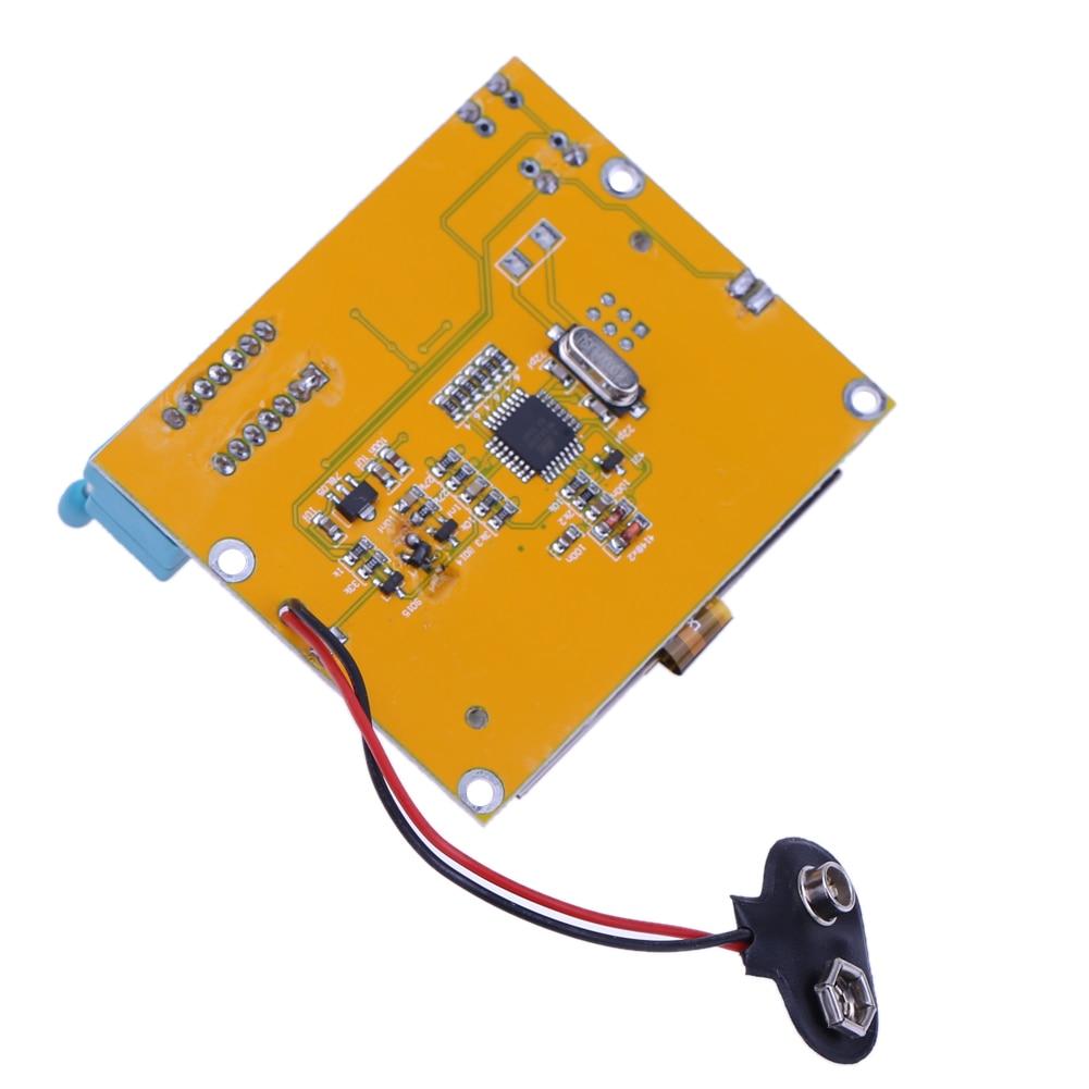 2X LCR T4 ESR Combo Digital Transistor Tester Diode Triode Capacitance indutor resistor MOS/PNP/NPN + Teste clipe 11