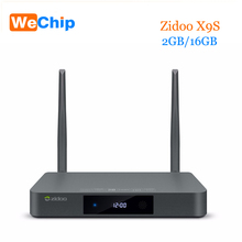 Original Zidoo X9S Android 6.0 Tv Box 2G 16G OpenWRT dual system Media Player RTD1295 Quad-Core Dual Wifi 802.11 ac ott tv box(China)