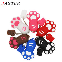 JASTER Promotion price cartoon claw model usb memory stick Cute Mini usb flash drive pen drive 2GB 4GB 8GB 16GB 32GB