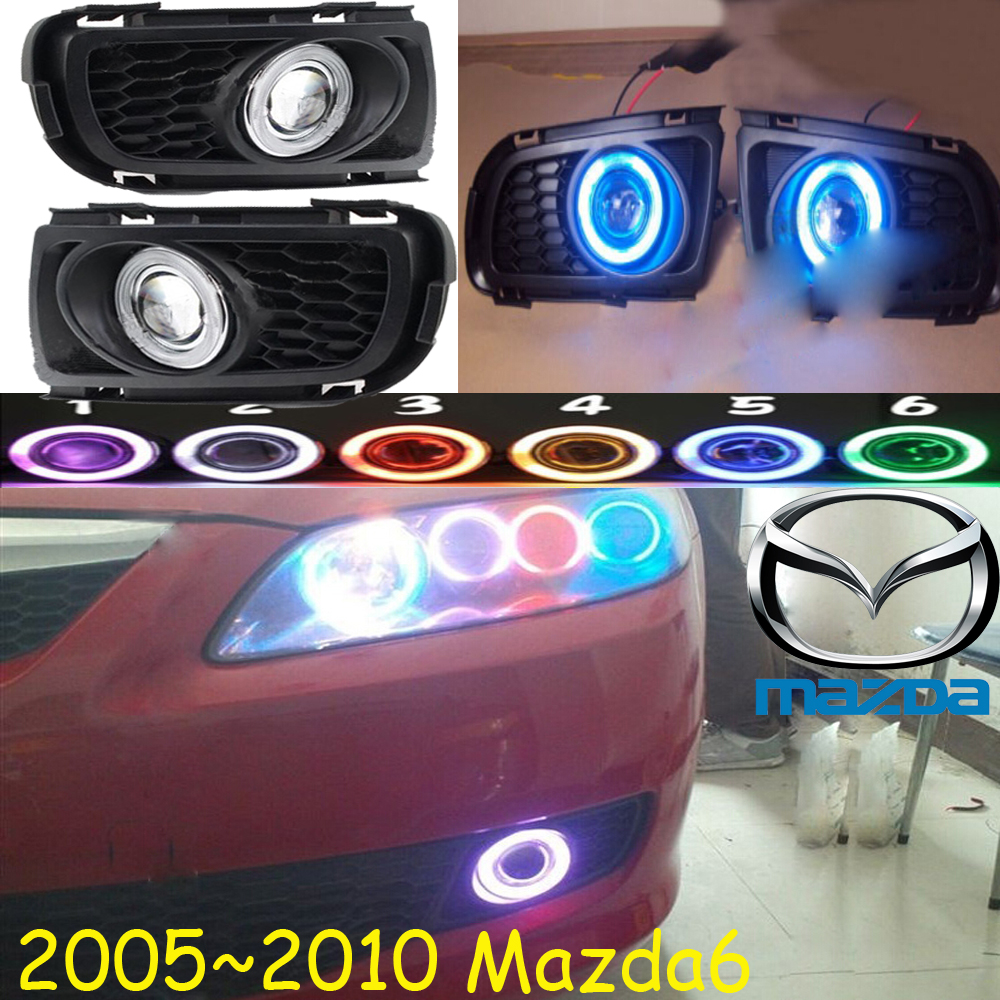 MAZD6 fog light 2005~2010year Free ship!MAZD 6 daytime light,2ps/set+wire ON/OFF:Halogen/HID XENON+Ballast,MAZD6<br>