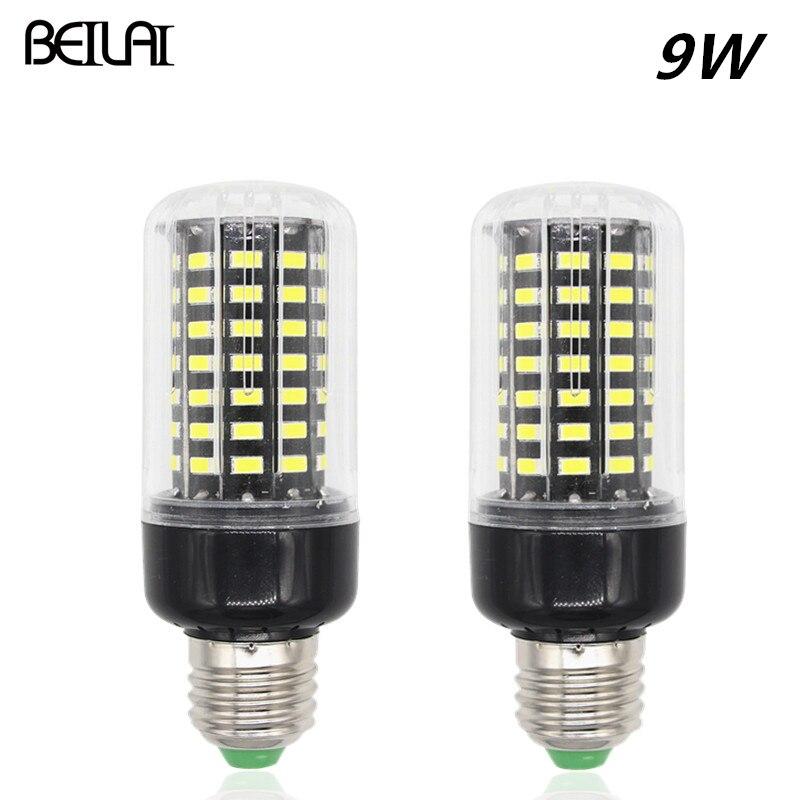 5736 Lamparas LED Lamp E27 220V 110V 9W Spotlight 85-265V Lampada LED Bulbs E14 Candle Luz Christmas lights Brighter than 5730<br><br>Aliexpress