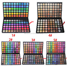 120 Color Fashion Eye Shadow Palette Cosmetics Eye Make Up Tool Makeup Eye Shadow Palette Eyeshadow Set for women 5 Style Color(China)