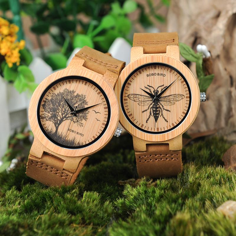 wooden men wrist watches for men bobo bird (16)