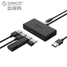 ORICO High Speed 4 Ports USB2.0 Hub USB Port USB Micro Port HUB Charging Hub USB Splitter for Apple Macbook Air Laptop PC Tablet