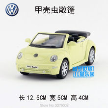 KINSMART Die Cast Metal Models/1:32 Scale/2003 Volkswagen New Beetle Convertible toys/for children's gifts or for collections