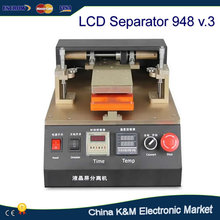Hot Sell 110/220V LY 948 V.3 semi automatic LCD separator Machine with built-in vacuum pump for LCD Refurbishment