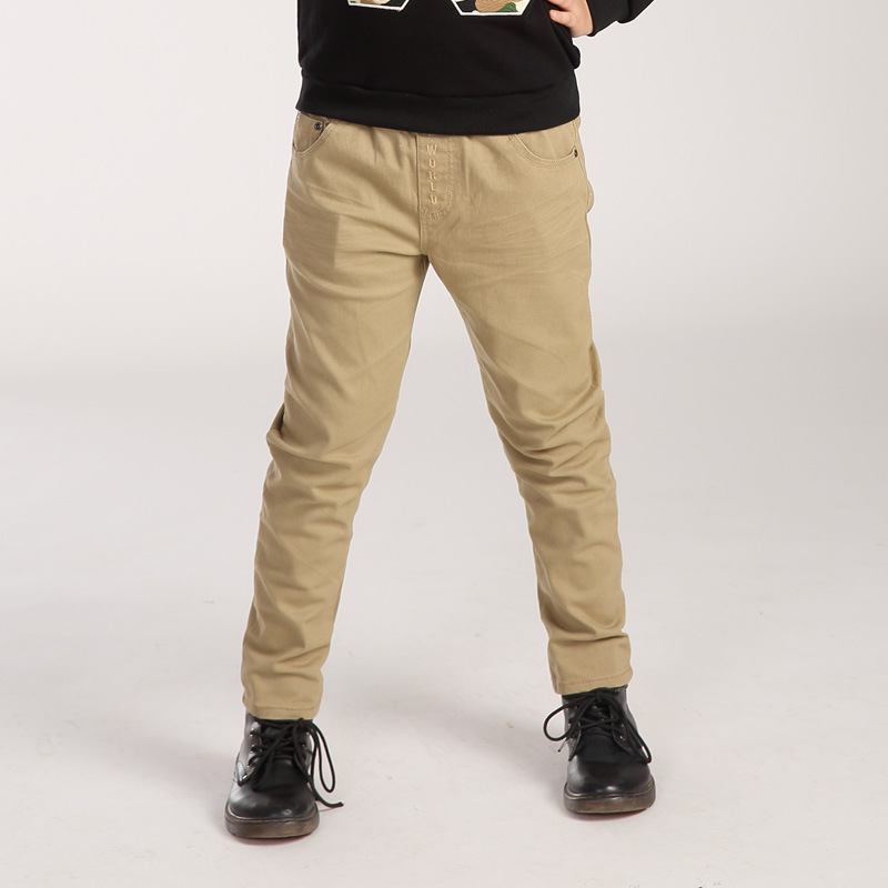 Big Boys Cotton LongPants Capris Children Leisure Kids Pants Cotton Brand Children Clothing Full Length Trousers For Boy YL178<br>