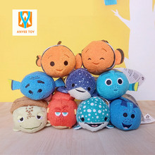 2017 Tsum Tsum Plush toy doll Duck toys Cute doll Screen Cleaner Tsum tsum mini doll toy keychain for Christmas gifts