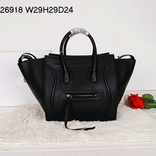Fashion big brand Classic style, smiling face bag, Leather handbags, high quality Leather totes. Free shipping