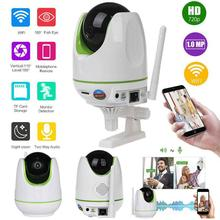 Wireless WiFi 720P HD CCTV IP Video Audio Pet Camera Webcam Home Security Night Vision 1280 * 720 Photo resolution