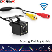 2017 Wireless Movable Parking Guide line camer Dynamic trajectory Car Rear view Camera Auto reversing Cam Parking Assistance