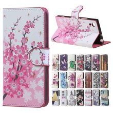For Sony Xperia Z L36h case Pink Plum Magnetic Leather Wallet Flip Cover Case For Sony Xperia Z L36h Yuga C6603 C6602 phone bags