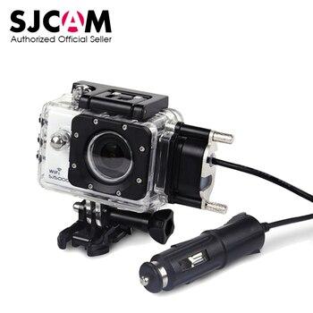 SJCAM Moto Boîtier Étanche pour Origine SJCAM SJ5000 Série pour SJ4000 Série Cas De Charge pour SJ5000X SJ5000 Plus WiFi
